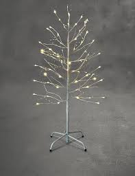 outdoor pre lit trees contemporary twig style fresh