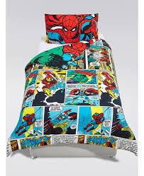 Avengers Duvet Cover Single Marvel Avengers Superheroes Single Duvet Cover And Pillowcase Set