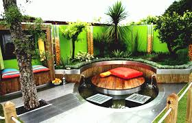 funky small garden design landscaping ideas for gardens with shed