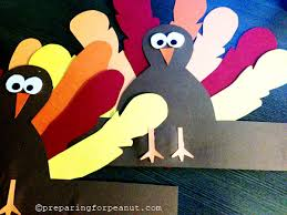 foam turkey craft it s turkey time