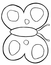 draw coloring pages of a butterfly at decoration tablet