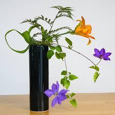 ikebana vase nageire cylinder vase for ikebana ziji