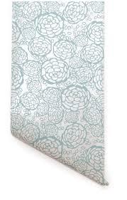 petal pushers wallpapers hygge u0026 west petal pusher white blue dream wallpaper for