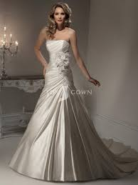 Stylish Wedding Dresses Fabulous Stain A Line Wedding Gown Collection Trendyoutlook Com
