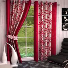 jbg home store set of 3 door curtains u0026 set of 5 cushion cover