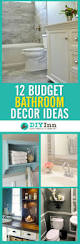 budget bathroom decorating ideas diy inn