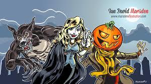 halloween monster drawing tutorial videos wacom cintiq and adobe