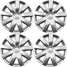 toyota camry hubcaps 2003 amazon com hub caps for select toyota camry pack of 4 15 inch