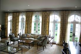 Stationary Curtain Rod Decorating Beautiful Drapery Panels For Window Covering Ideas