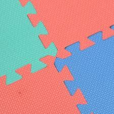 Norsk Interlocking Floor Mats by Set Of 9pcs Interlocking Puzzle Floor Foam Gym Mats Thick Squares