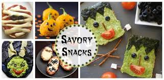 17 spook tacular healthy halloween treats snacks and beverages