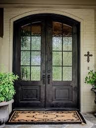 Glass Front House Amusing Double Front Doors For Homes Traditional Exterior With