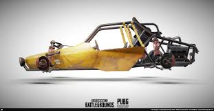 pubg 3d models artstation playerunknown s battlegrounds buggy karol miklas