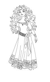 Brave Coloring Pages Merida Coloringstar Disney Brave Coloring Pages