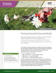 assess pruning needs indiana yard and garden purdue consumer
