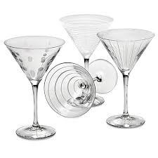 martini glasses u0026 sets martini cups chillers bed bath u0026 beyond