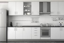 European Style Kitchen Cabinets by Kitchen Room Interior European Kitchen Cabinets With Yellow Wall