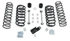 lj jeep lifted tj 3 u201d lift kit no shocks or sway bar disconnects teraflex