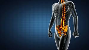 Male Anatomy Video Head Pain Headache Male Hurt Backbone Stock Footage Video
