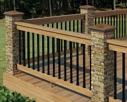 Ideas For Deck Handrail Designs Wondrous Deck Railing Ideas Deck Railing Ideas Jbeedesigns Outdoor