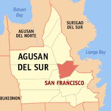 san francisco quezon map san francisco agusan sur wikiwand