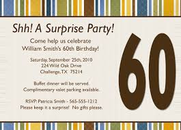 surprise birthday invitation wording template best template