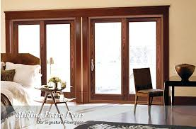 Wood Sliding Glass Patio Doors Amazing Wood Sliding Patio Doors For Wen Custom Wood Sliding Patio
