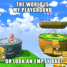 Super Mario Memes - cat peach loves to explore the vibrant and creative worlds of super