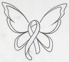 lupus butterfly ribbon clipart free images at clker com vector