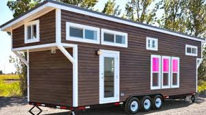 high end finish metal frame micro trailer home tiny house design