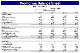 Free Balance Sheet Template Excel Sle Pro Forma Balance Sheet Templates Excel Invoice Tool