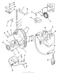 toro 31 16o801 416 8 garden tractor 1989 parts diagram for onan