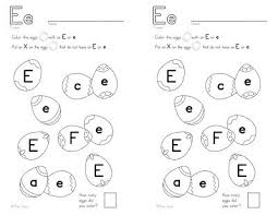 12 best e images on pinterest preschool letters abc worksheets