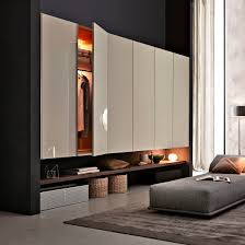 Wall Wardrobe by Wall Mounted Walk In Wardrobe Contemporary Wooden With