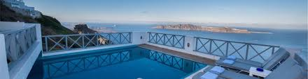 prekas apartments hotels in imerovigli caldera aerial preview