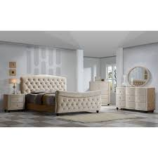 Sleigh Bed Bedroom Set Diamond Sleigh Bed Bedroom Set Free Shipping Today Overstock