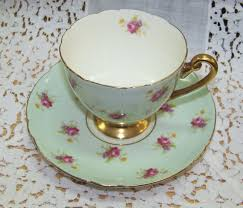 lovely shelley cup and saucer signed fine bone china shelley