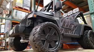 power wheels jeep wrangler costco power wheels jeep rubicon recon 12 volt ride on 249