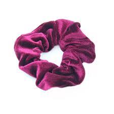 hair scrunchy 10pcs lot fashion woman velvet hair scrunchy solid color hair tie