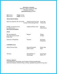 Skills And Abilities Resume Sample by Download Beginner Acting Sample Resume Haadyaooverbayresort Com