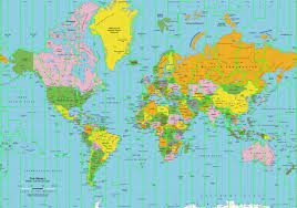 Time Zone Map by Map Of Just The Time Zones 1205x1052 Mapporn