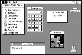 Mac Desk Accessories A Brief History Of Widgets The Verge