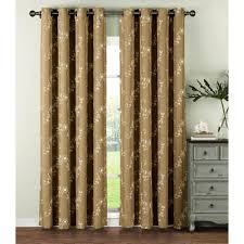 Linen Curtains With Grommets Window Elements Semi Opaque Venice Embroidered Faux Linen Extra