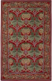 Fall Area Rugs Surya Bungalow Bng 5009 Red Teal Closeout Area Rug Fall 2012