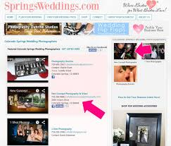 wedding vendor websites grow your wedding business with springsweddings colorado