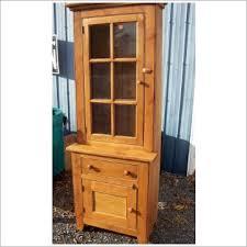 small china hutch wood small stepback cupboard reclaimed wood