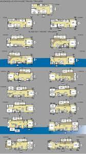 travel trailer front bunkhouse floor plans evergreen travel