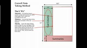 cornell notes video youtube