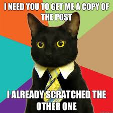 Copy Cat Meme - i need you to get me a copy cat meme cat planet cat planet