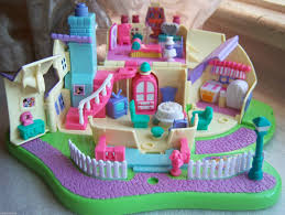 vintage disney polly pocket minnie surprise party complete